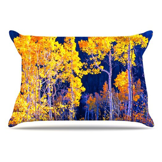 KESS InHouse Trees Pillowcase