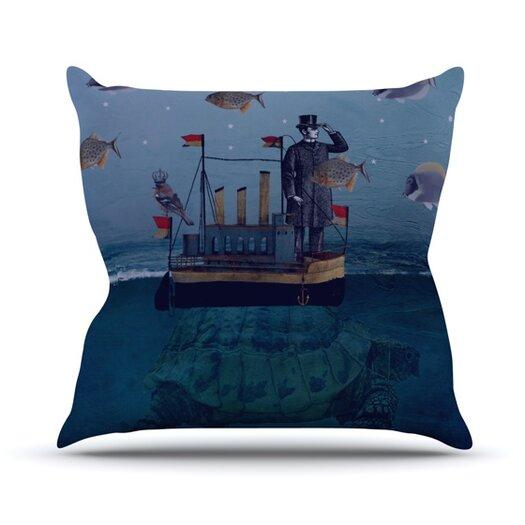KESS InHouse The Voyage Throw Pillow