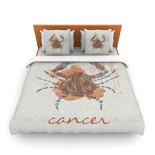 KESS InHouse Cancer Duvet