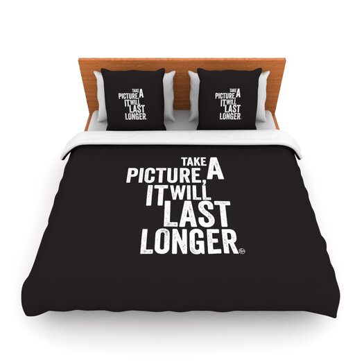 KESS InHouse Take a Picture Duvet Cover