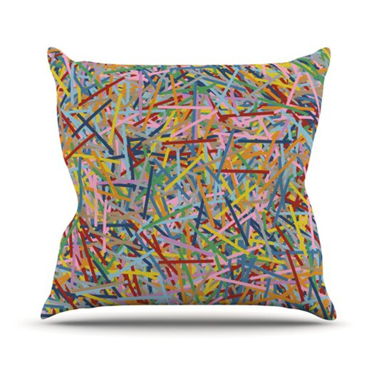 KESS InHouse More Sprinkles Throw Pillow