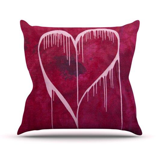 KESS InHouse Miss You Throw Pillow