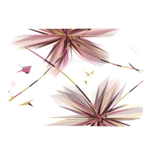 KESS InHouse Flower Placemat