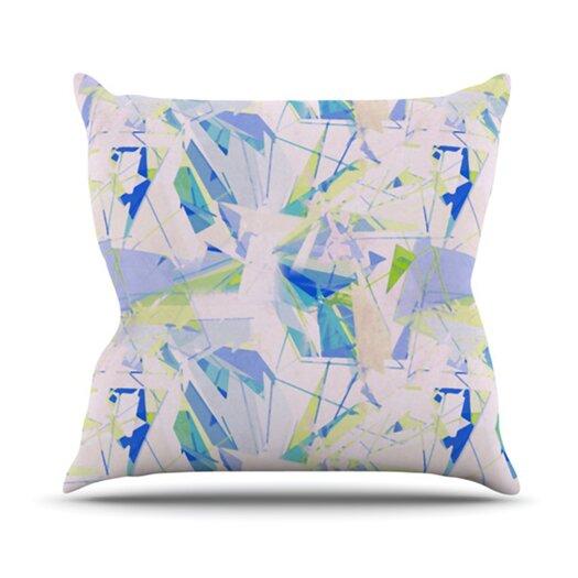 KESS InHouse Shatter Throw Pillow