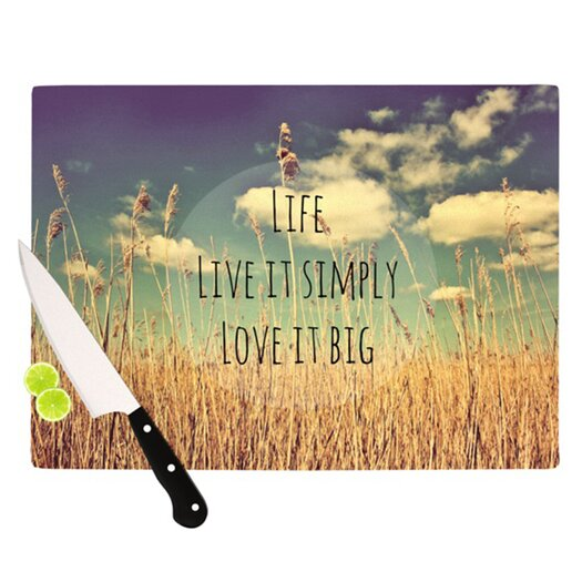 KESS InHouse Life Cutting Board