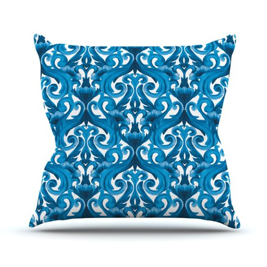 KESS InHouse Intertwined Throw Pillow