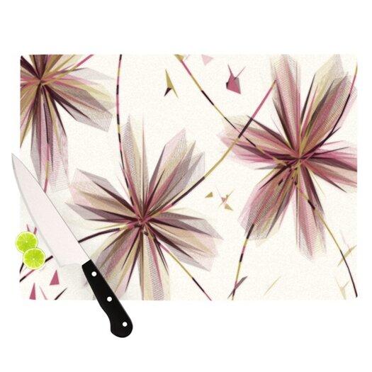 KESS InHouse Flower Cutting Board