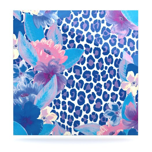 KESS InHouse Leopard by Aimee St Hill Graphic Art Plaque