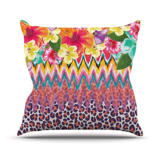 KESS InHouse Grow Throw Pillow