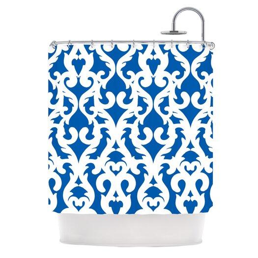 KESS InHouse Modern Baroque Polyester Shower Curtain