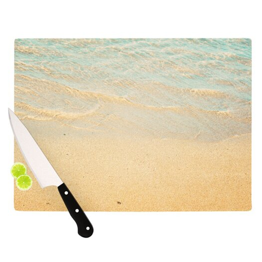 KESS InHouse Ombre Water Cutting Board
