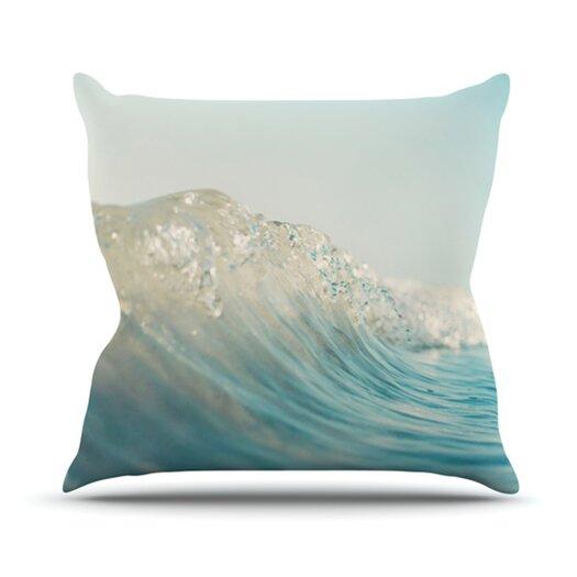 KESS InHouse The Wave Throw Pillow