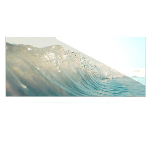 KESS InHouse The Wave by Bree Madden Photographic Print Plaque