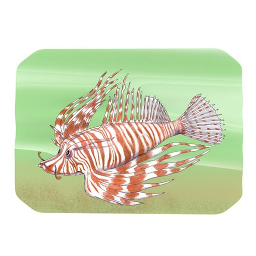 KESS InHouse Fish Manchu Placemat