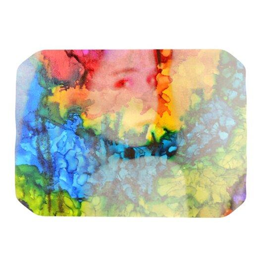 KESS InHouse Rainbow Splatter Placemat