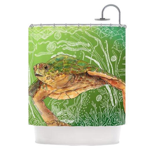KESS InHouse Shelley Polyester Shower Curtain