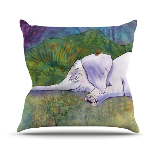 KESS InHouse Ernie's Dream Throw Pillow