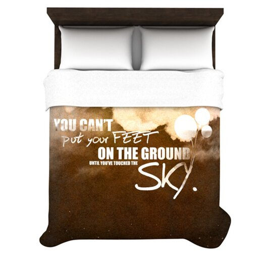 KESS InHouse Touch The Sky Duvet Cover