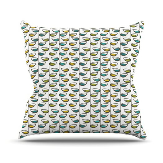 KESS InHouse Spring Stem Throw Pillow