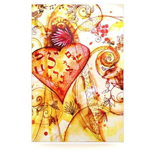 KESS InHouse Tree of Love by Marianna Tankelevich Graphic Art Plaque