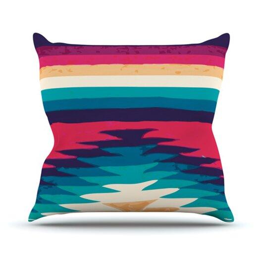 KESS InHouse Surf Throw Pillow