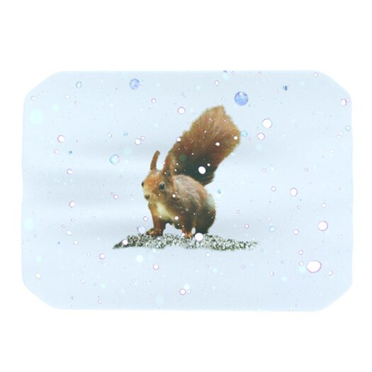 KESS InHouse Squirrel Placemat
