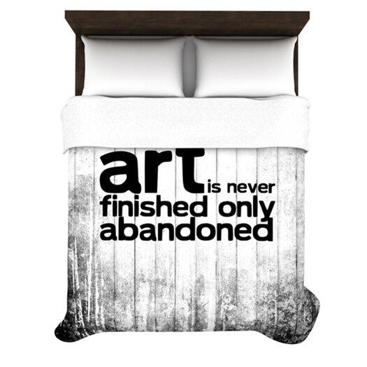 KESS InHouse Art Never Finished Duvet