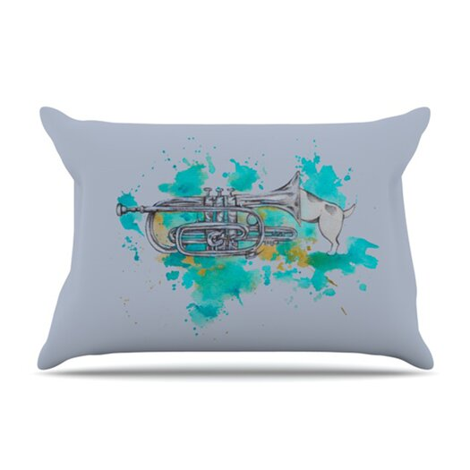 KESS InHouse Hunting for Jazz Pillowcase