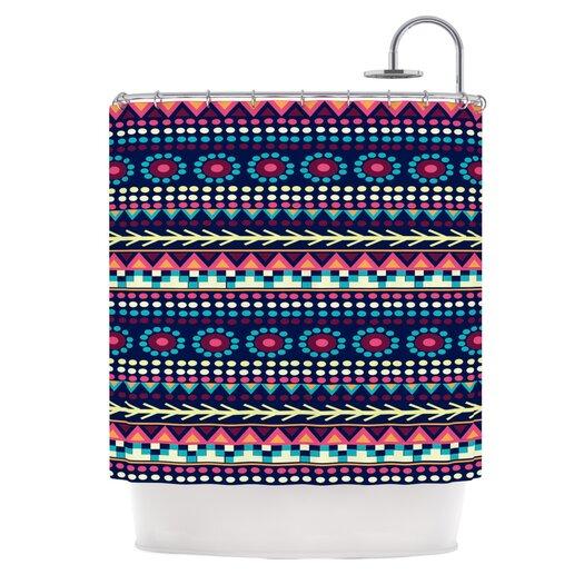 KESS InHouse Aiyana Polyester Shower Curtain