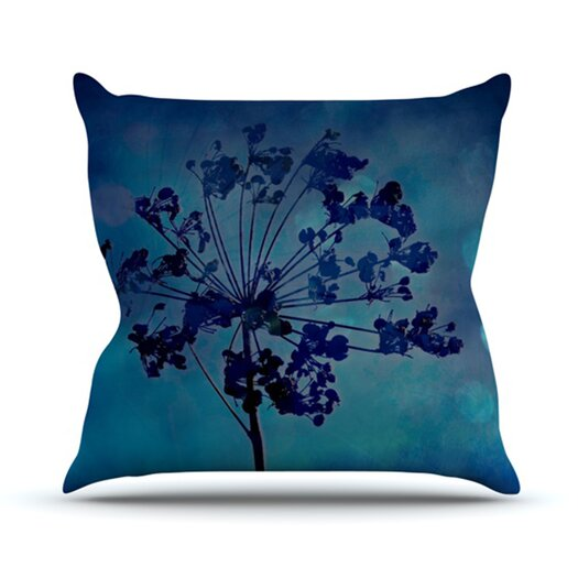 KESS InHouse Grapesiscle Throw Pillow