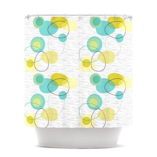 KESS InHouse Vaniretro Polyester Shower Curtain
