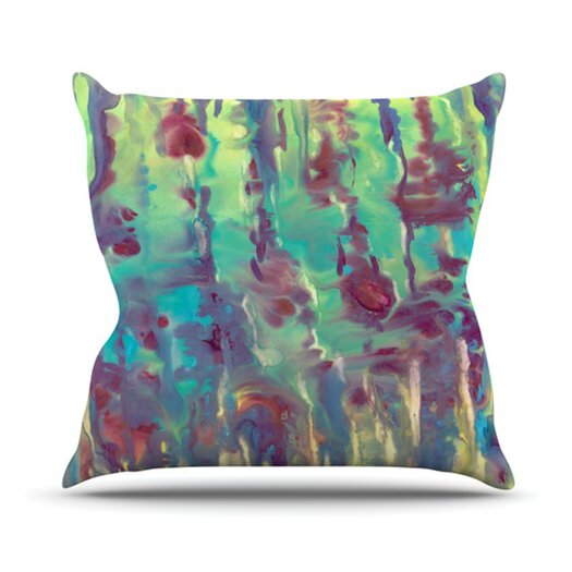 KESS InHouse Splash Throw Pillow