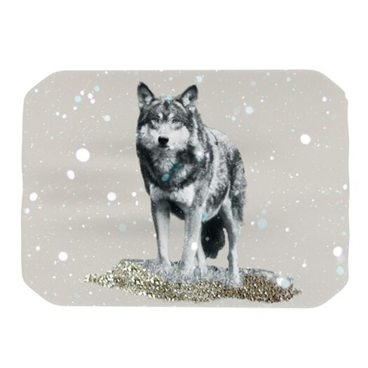 KESS InHouse Wolf Placemat