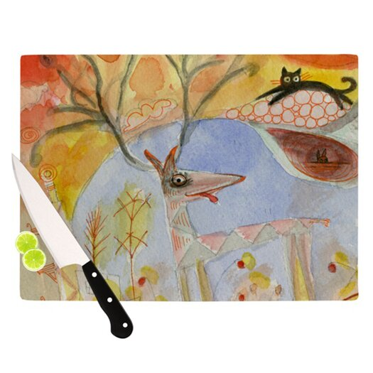 KESS InHouse Promise of Magic Cutting Board