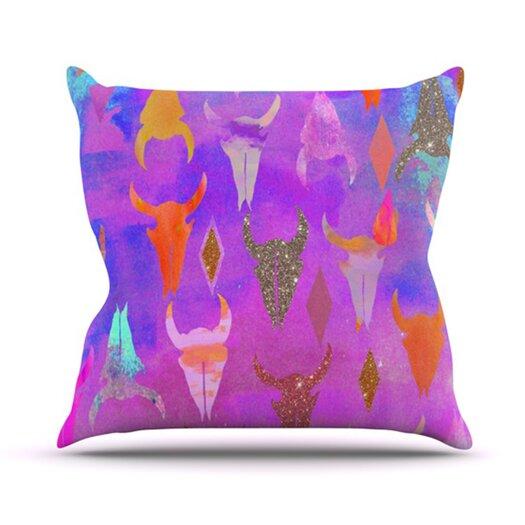 KESS InHouse Rodeo Throw Pillow