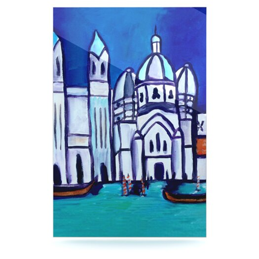 KESS InHouse Venice by Theresa Giolzetti Graphic Art Plaque