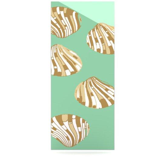 KESS InHouse Scallop Shells by Rosie Brown Graphic Art Plaque