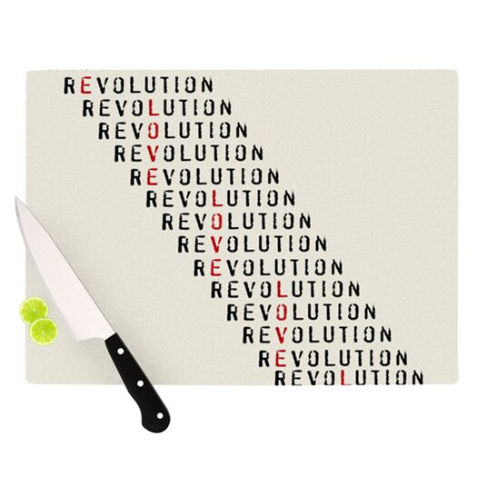 KESS InHouse Revolution Cutting Board
