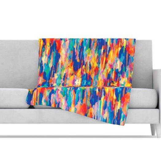 KESS InHouse Cloud Nine Microfiber Fleece Throw Blanket