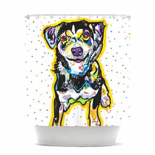 KESS InHouse Jasper Polyester Shower Curtain