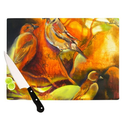 KESS InHouse Reflecting Light Cutting Board