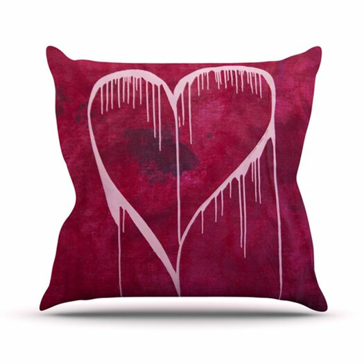 KESS InHouse Miss You Throw Pillow
