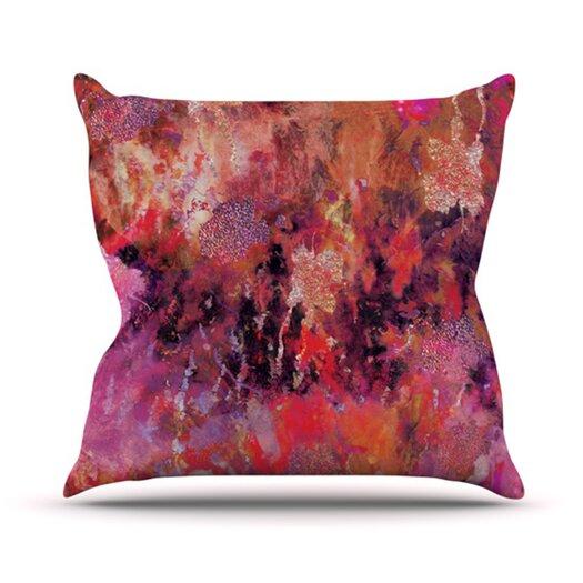 KESS InHouse Indian City Throw Pillow