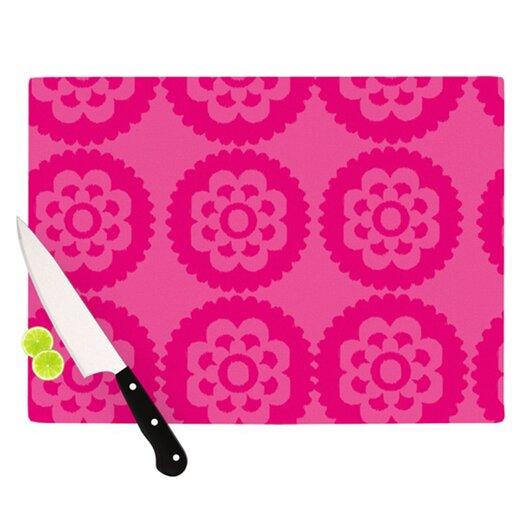 KESS InHouse Moroccan Cutting Board
