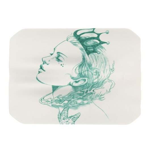 KESS InHouse Queen of the Sea Placemat