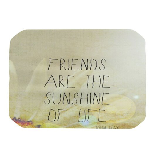 KESS InHouse Friends Sunshine Placemat