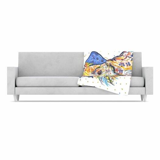 KESS InHouse Rory Fleece Throw Blanket