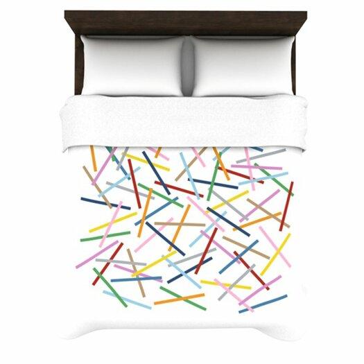 KESS InHouse Sprinkles Duvet Cover
