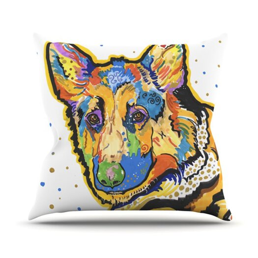 KESS InHouse Floyd Throw Pillow