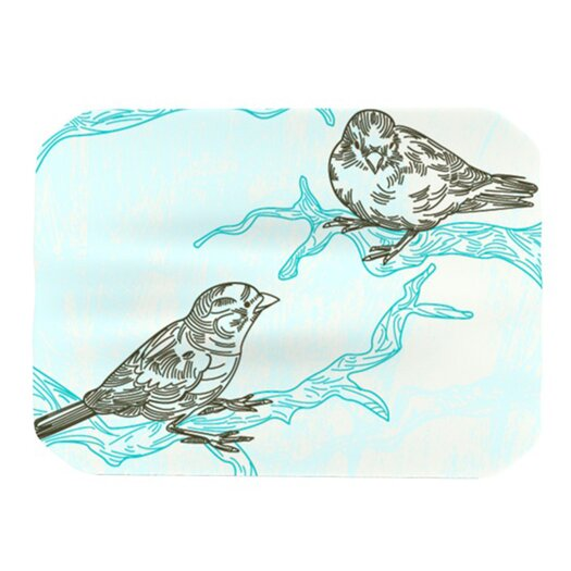 KESS InHouse Birds in Trees Placemat